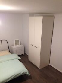 A double room in a newly renovated flat in South East London