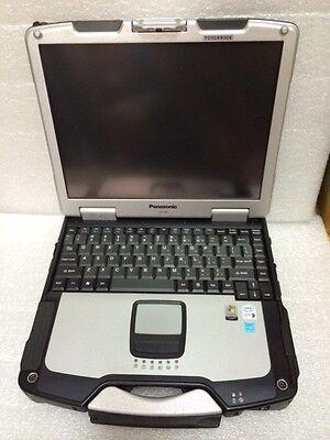 Panasonic Toughbook mk2 rugged laptop CF-30 Core 2 duo 1.6Ghz 4gb 250gb WinXP