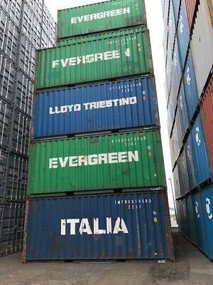 Conex Intermodal Shipping Container Cleveland Ohio