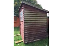 Garden shed, requires some maintenance. If you dismantle & collect it's FREE!