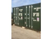 Secure Self Storage to Rent in Hesketh Bank , large containers, CCTV