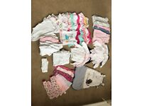 Baby Girl Clothes Bundle incl Next and Mothercare