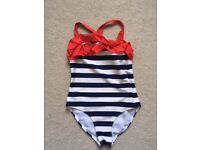 TU Swimsuit Navy and Red NEW without tags Age 8 years