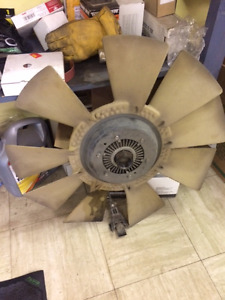 Thermostatic Fan with Blade