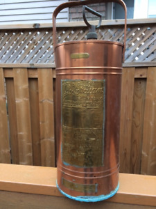 Brass Water Pump Extinguisher