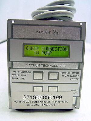 Varian V-301 Turbo Turbomolecular Vacuum Pump
