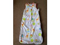 Grobag sleeping bag 18-36 months, 2.5 tog, elefant