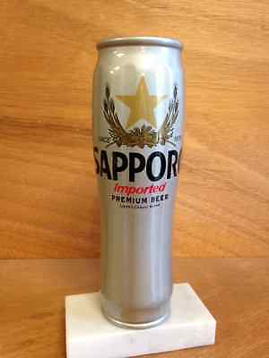 Sapporo Beer Japan Imported Can Tap Keg Bar Handle Vintage Very Rare  Free Ship