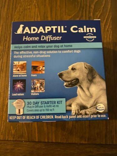 ADAPTIL CALM HOME DIFFUSER for Dogs 30 Day Starter Kit exp 10/2021