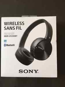 New in Box Sony MDR-ZX330BT Wireless and Bluetooth