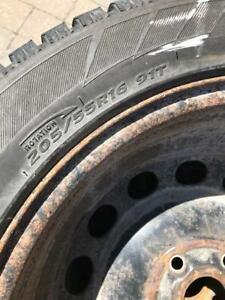 Winter tires from Volkswagon Golf