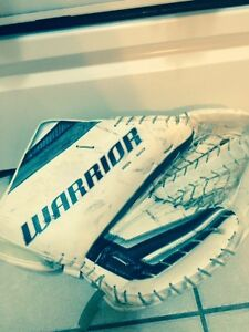 goalie gloves and blockers