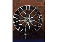 "18"" Audi A3 / Audi A4 Black & Polished Mesh Design Alloy Wheels - Brand New Boxed"