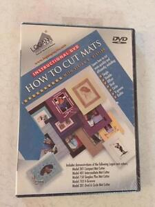 Logan How to Cut Mats (Instructional DVD) Fitzroy North Yarra Area Preview