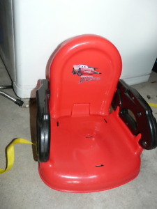 child booster seats and bottle sterilizer