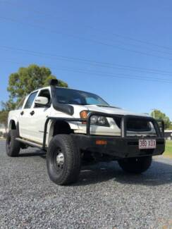 2009 Holden Colorado RC 3.0L Turbo Diesel, Automatic, 4X4 LIFTED