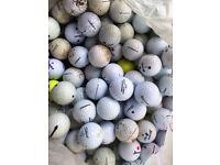 200 Golf Balls - Practice or General Play - Titleist / Srixon / Bridgestone 10p each !