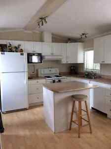 Mobile Home with a beautiful kitchen!!