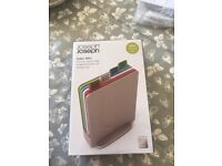 Brand New Joseph Joseph Chopping Board Set, Mini, Set of 4