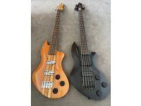Lace Helix Bass Guitars 5 & 4 String 2011 rare guitars ric/precision trades swaps