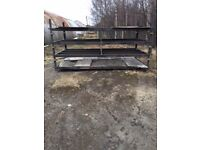 4 x Metal Stillage 12 foot x 6 foot