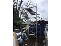 Scaffold tower -boss, double width 4.2m working height