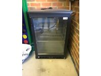 Hardly used, glass fronted standard size drinks fridge