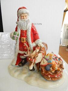 Royal Doulton 2016 HOLIDAY MAGIC Santa Father Christmas Figurine SIGNED NEW/BOX