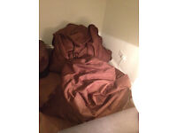 2 x Huge Brown FatBoy Type BeanBags (£35 each or both for £60)