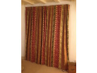 Beautiful Hand Made Laura Ashley Lined Curtains