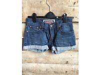 Vintage Levi denim cut off shorts: job lot, various sizes!