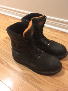 Mens Steel Toed Work Boots size 12