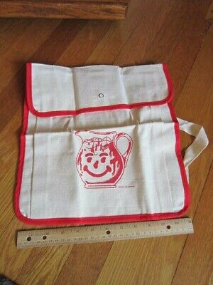Vintage Retro Backpack Kool Aid Smiling Pitcher Canvas Bag UNUSED Collectible