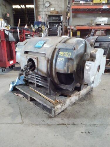300 Hp Magnetek Electric Motor, 1800 Rpm, 447ts Frame, Dp, 460 V