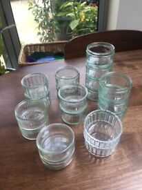 19 Glass Ramekins/small dishes for baking. Collect from Fulham