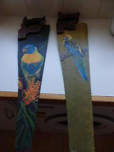 Old Handpainted Saws Shepparton Shepparton City Preview