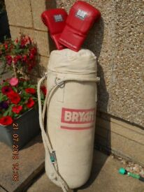 Bryan Punchbag & BBE Gloves