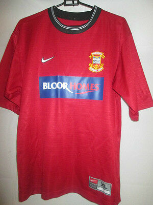 Tamworth 2002-2003 Home Football Shirt Size Extra Large Boys /20857 image