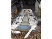2.6m Quicksilver Inflatable Dinghy with Inflatable Floor