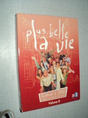 PLUS BELLE LA VIE VOLUME 08 COFFRET5DVD EPISODES 211 A 240