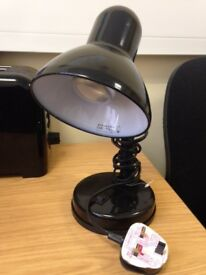 Black Portable Desk Lamp Black