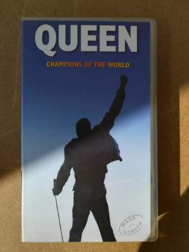 Vhs originale queen champions of the world