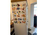 2 Door Quitman Capri Wardrobe - White & Pine - great condition
