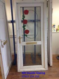 White Upvc Door Rose Design for Sale in Birmingham