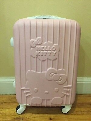 Hello Kitty Pink Rolling Suitcase Luggage 21