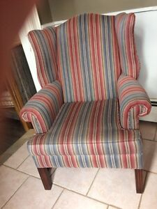 STUNNING WING BACK CHAIR!!!!