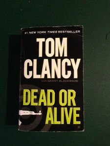 REDUCED!! Book - Dead or Alive by Tom Clancy
