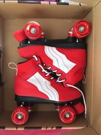 Red Rio Roller Skates - Hardly used!