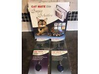 CAT MATE ELITE SUPER SELECTIVE CAT DOOR. BRAND NEW