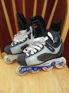 Roller Blades  (3) different pairs Bauer, CCM, very gd condition